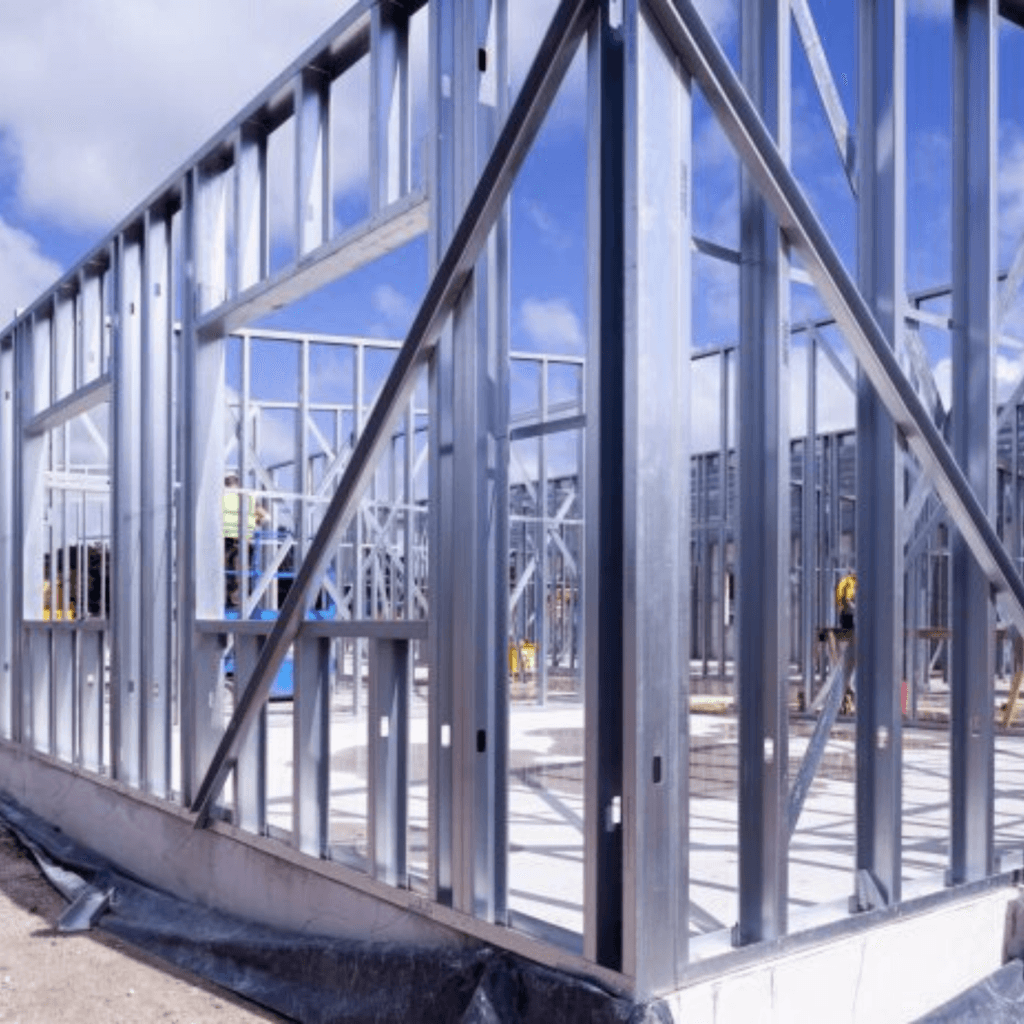 structural steel framework system from Metsec for JCS Interiors