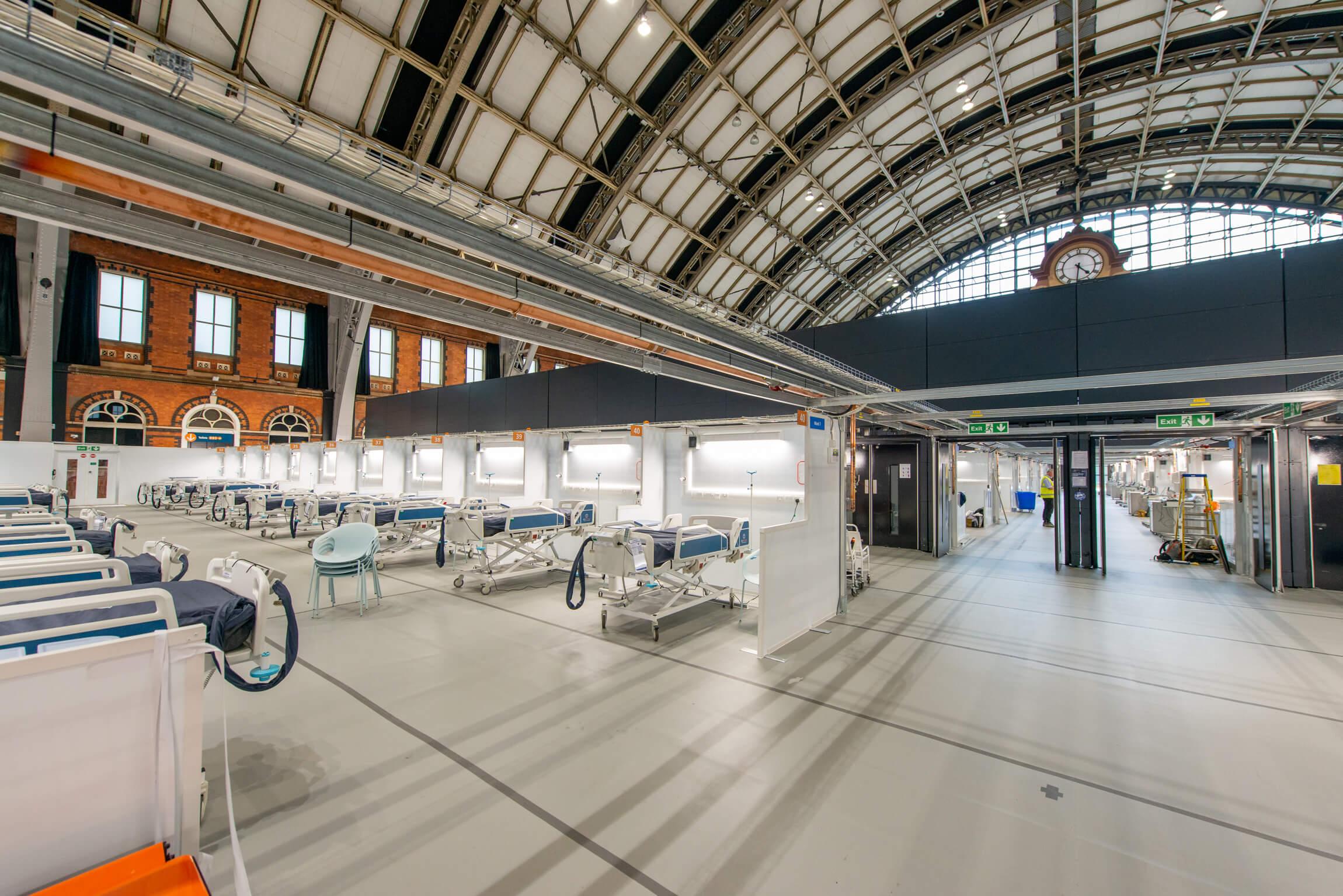 JCS Work Around The Clock On Nightingale Hospital Projects