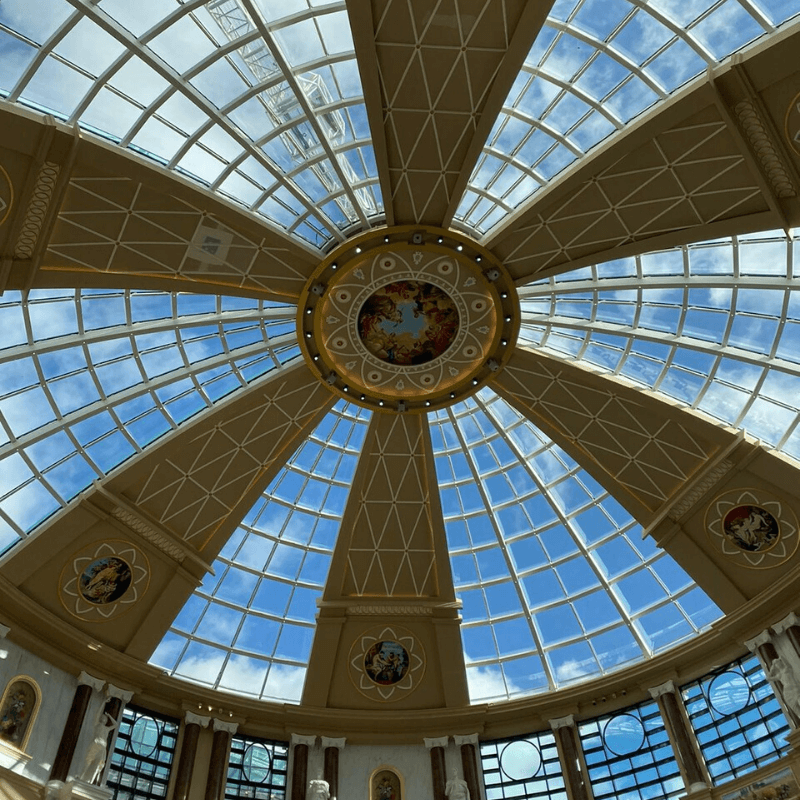 Image of Barton Square ceiling for drylining and suspended ceiling specialists, JCS
